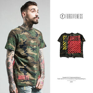 New-Camouflage-Men-T-Shirt-Striped-Letters-Printed-Short-Sleeve-Tee-Shirts-M-XXL