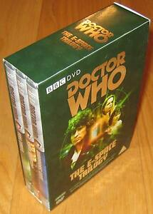 Doctor-Who-DVD-BOX-SET-The-E-Space-Trilogy-Excellent-Condition