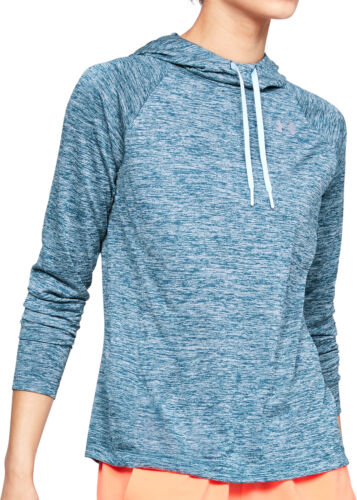 Under Armour Tech Twist 2.0 Womens Running Hoody Blue