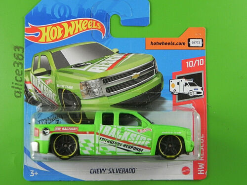 HW Rescue 240 HOT WHEELS 2020 neu in OVP T-Hunt Chevy Silverado