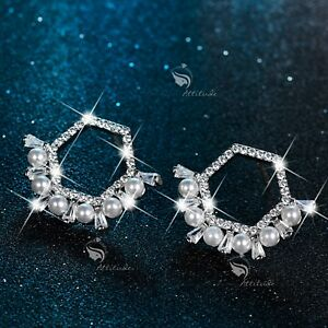 18k-white-gold-gf-made-with-SWAROVSKI-crystal-stud-pearl-earrings-925-silver