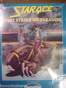 PACESETTER STAR-ACE First Strike on Paradise #4005 1985 New In Shrink Wrap