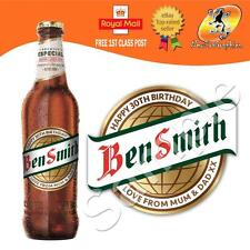 PERSONALISED SPANISH LAGER CERVEZA BOTTLE LABEL BIRTHDAY ANY OCCASION GIFT