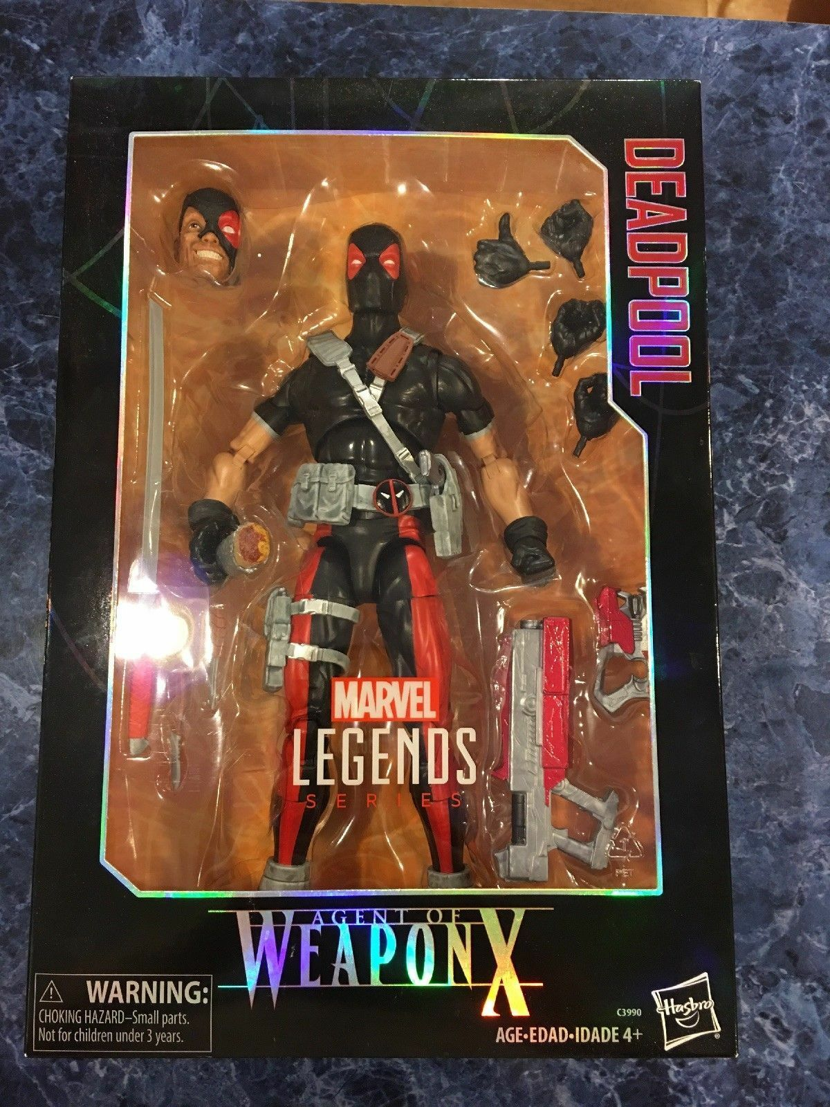 Marvel Legends Series - 12 12 12  Inch Deadpool - Agent Of Weapon X - Action Figure 2ff593