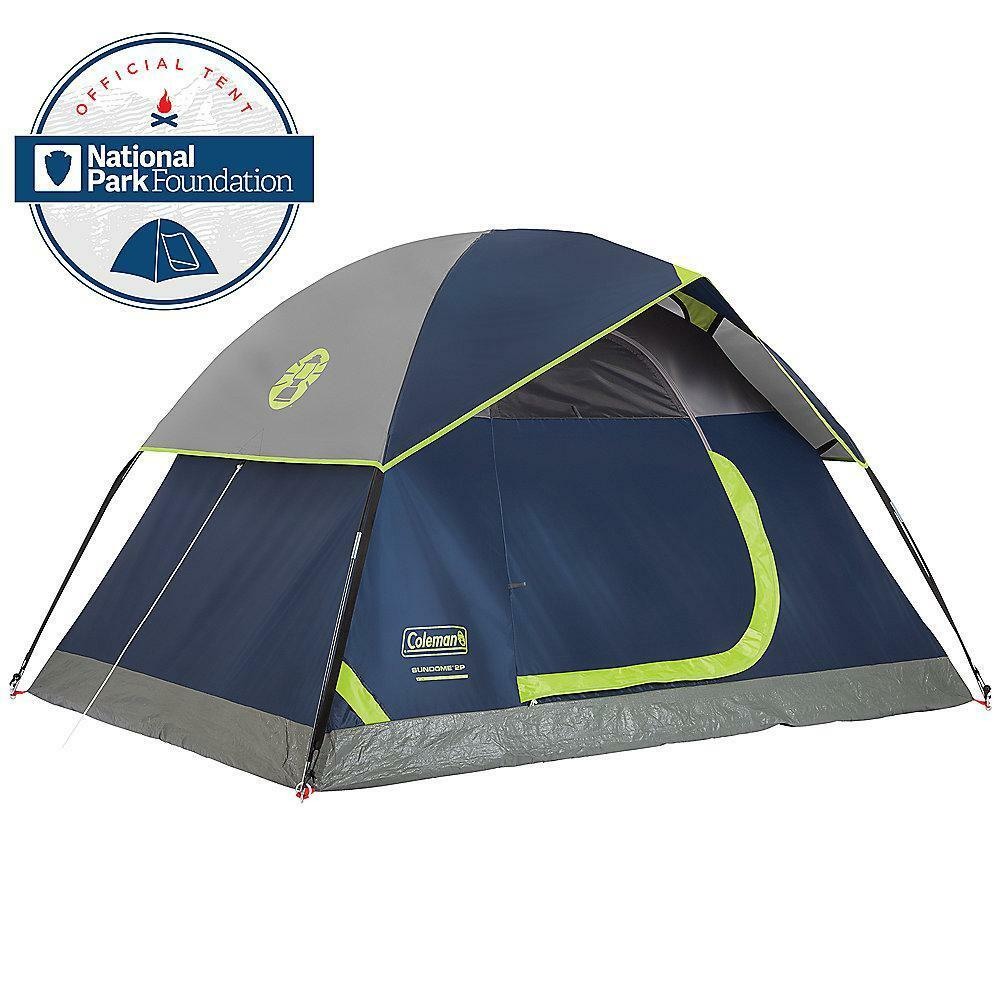 Durable Polyguardfabric Sundome 2-Person  7 ft. x 5 ft. Dome Camping Tent  cheap sale