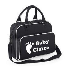 5dd983490c811 item 1 Personalised Baby Changing Bag Name Storage Carry Clothing Newborn  Mum Pram FOOT -Personalised Baby Changing Bag Name Storage Carry Clothing  Newborn ...