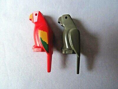 DARK BLUISH GREY x 1 LEGO Bird Parrot 2546 A7 Animal