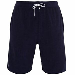 Mens-Lacoste-Terry-Shorts-Fleece-Lightweight-New