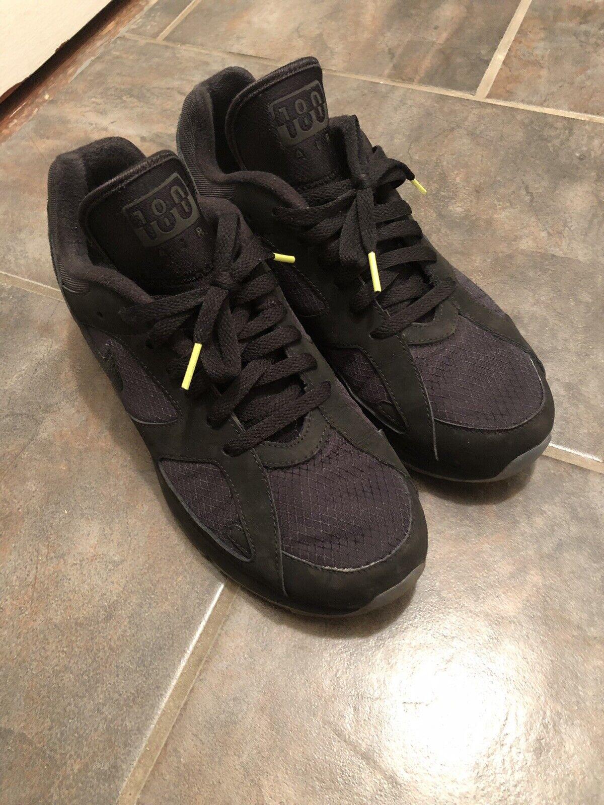 Nike Air Max 180 Night Ops - Black   Volt - US MENS 8.5