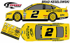 CD_1823 #2 Brad Keselowski 2014 Alliance Truck Parts Ford  1:64 decal  OVERSTOCK