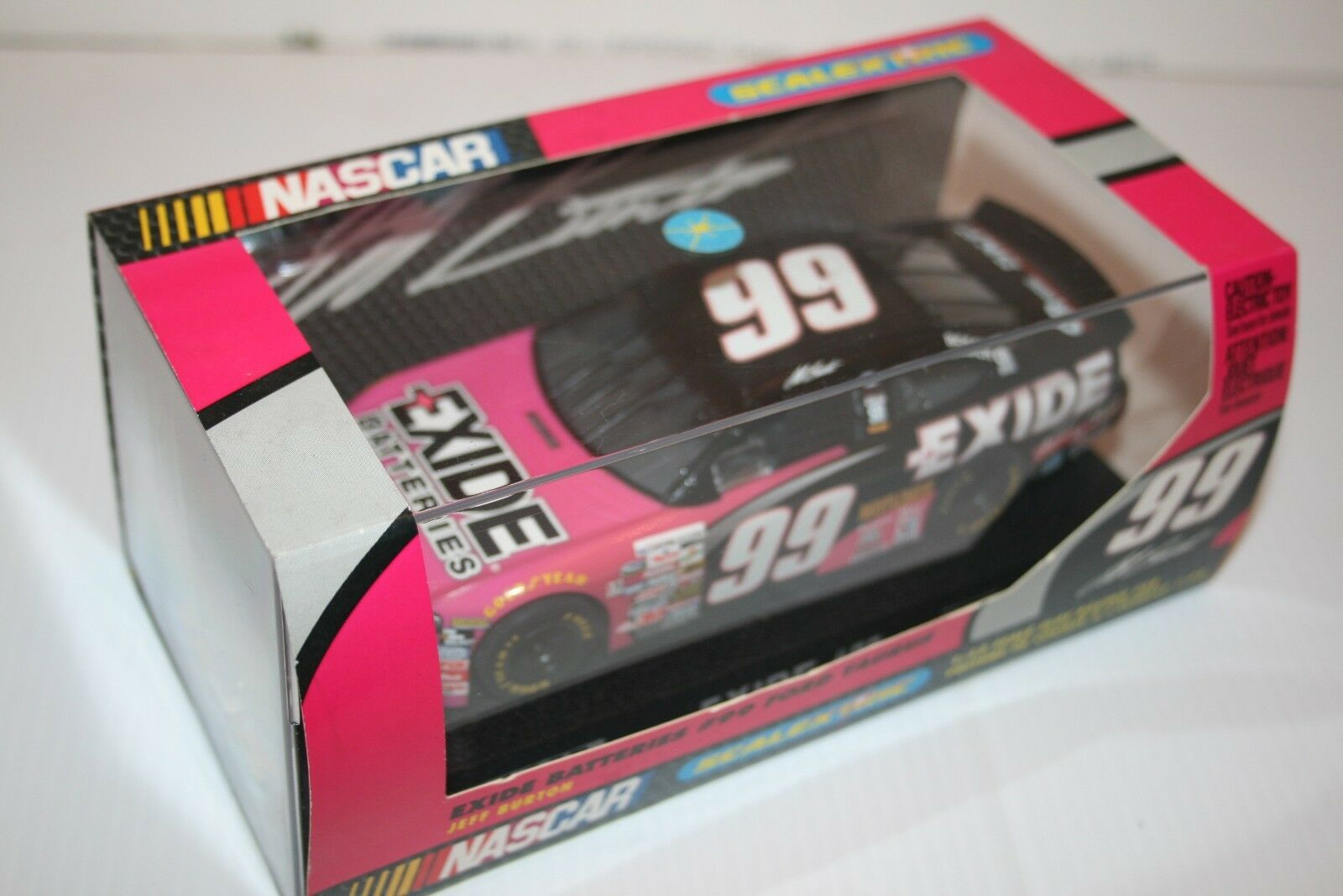 SCALEXTRIC BNIB JEFF BURTON EXIDE BATTERIES NASCAR FORD TAURUS CAR 99