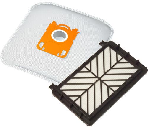 FC8610 FC8611 10 Staubsaugerbeutel 1 HEPA Filter geeignet für Philips HR 8532