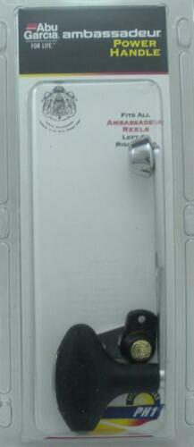 Abu PHA-S 1091025 Power Handle Silver 22197