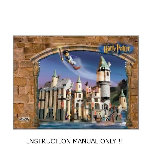 (Instructions) LEGO 4709 - HARRY POTTER - Hogwarts Castle - INSTRUCTION MANUAL