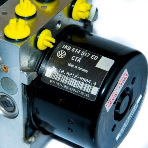 ⭐⭐⭐ ABS Steuergerät Hydraulikblock 1K0614517ED 1K0907379BM 10096103763 ⭐⭐⭐