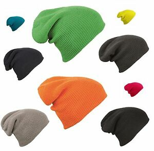 MB-Oversized-Slouch-Beanie-Hat-Cap-6-Colours-Mens-Ladies-Knitted-Woolly-Winter