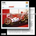 #054.06 DERBI 80 GP GRAND PRIX 1987 Fiche Moto Racing Motorcycle Card