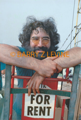 Jerry Garcia at Woodstock