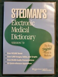 Electronic-Medical-Dictionary-2006-CD-ROM-Revised-edition