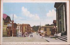 Drummondville, Quebec 1930 Postcard: Heriot Street - Canada