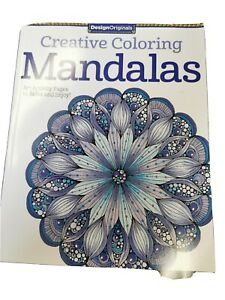 Creative-Coloring-Mandalas-Book-New-Livre-Neuf-A-Colorier