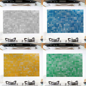 Details About Mosaic Stick On Self Adhesive Wall Tile Stickers Anti Oil For Kitchen Bathroom
