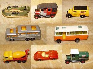 Vintage-diecast-cars-bus-avions-dinky-corgi-matchbox-edocar-noel-bargains