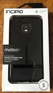 timeless design 24d08 9ec17 Details about Incipio NGP Advanced Case for Motorola Moto E4 Smartphone -  Black