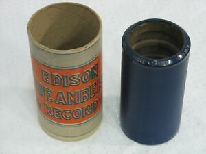 Edison-Cylinder-Blue-Amberol-Record-1821-I-Love-A-Lassie-by-H-Lauder