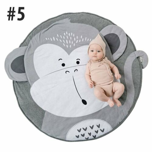 Baby Spielaktivität Spielmatte Bodenteppich Krabbeldecke Kinderdecke Rund Matte