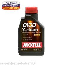 OLIO MOTORE MOTUL 8100 X-CLEAN SAE 5W30 ACEA C3 API SM/CF 1 LITRO