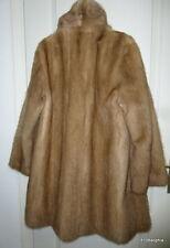 Manteau fourrure d'élevage VISON 44 XL mink coat