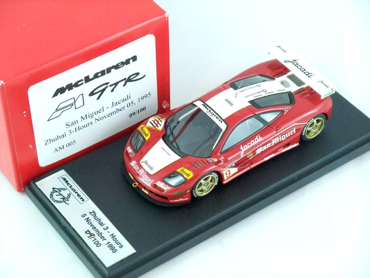 1 43 Autobarn AB Mclaren F1 GTR San San San Miguel - Jacadi Zhuhai 3HR AM005 86aa83