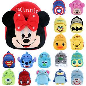 Toddler-Kids-Baby-Boys-Girls-Mini-Backpack-3D-Cartoon-Small-School-Shoulder-Bags