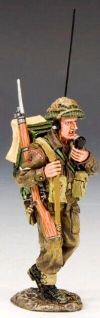 King & Land D Day Dd171 Britische Infanterie Radio Operator MIB