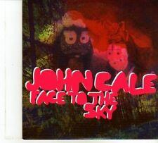 (DP420) John Cale, Face To The Sky - 2012 DJ CD