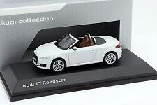 Audi TT Roadster gletscher weiß 1:43 Kyosho