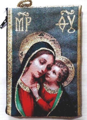 Virgin Mary zippered wallet