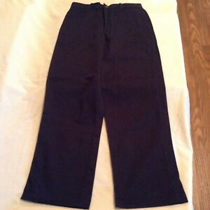 George Boys/' School Uniforms Straight Fit Flat Front Scotchgard Pants Size 14