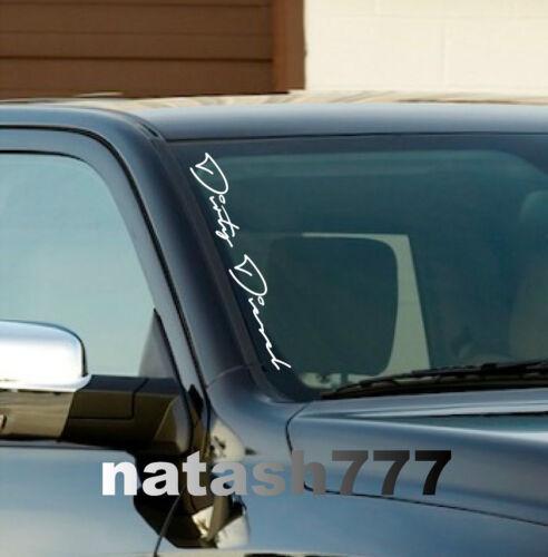 "DIRTY DIESEL Car Truck Sport 4x4 Windshield Vinyl Decal sticker emblem logo 22/"""