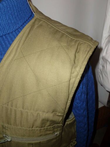 24 finta pelliccia Champion Green To Fodera con Shooting Pit M Uk Vest XxqI7aPwq