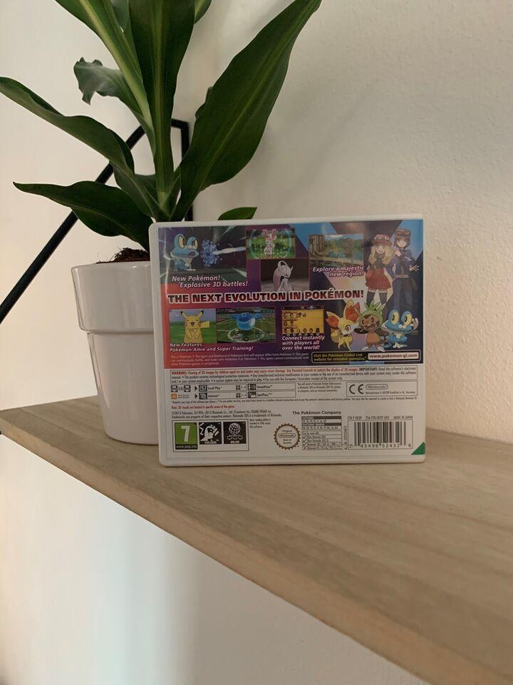 Helt nyt! Pokemon Y til Nintendo 3DS, Nintendo 3DS