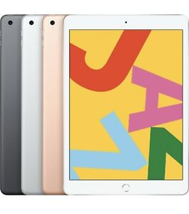 New-Sealed-Apple-10-2-034-iPad-7th-Gen-32GB-128GB-Gray-Gold-Silver-WiFi-2019-Model