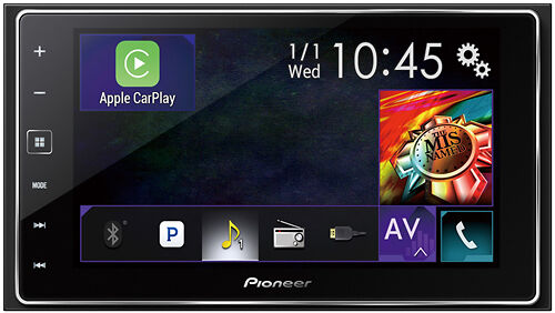 """Pioneer - 6.2"""" - Built-In Bluetooth - Apple® iPod®-Ready - In-Dash Receiver -..."""