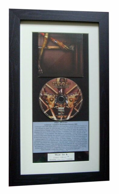 FEAR FACTORY Archetype CLASSIC CD Album GALLERY QUALITY FRAMED+FAST GLOBAL SHIP