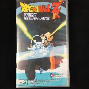 DRAGONBALL-Z-FRIEZA-DEATH-OF-A-PRINCE-2-6-Pal-Vhs-Video-Tape