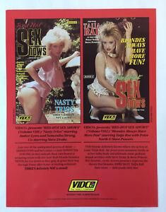 1988-adult-film-ad-slick-RED-HOT-SEX-SHOWS-Amber-Lynn-Taija-Rae