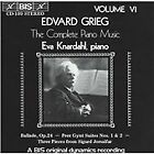 Edvard Grieg - Grieg: The Complete Piano Music, Vol. 6 (1988)