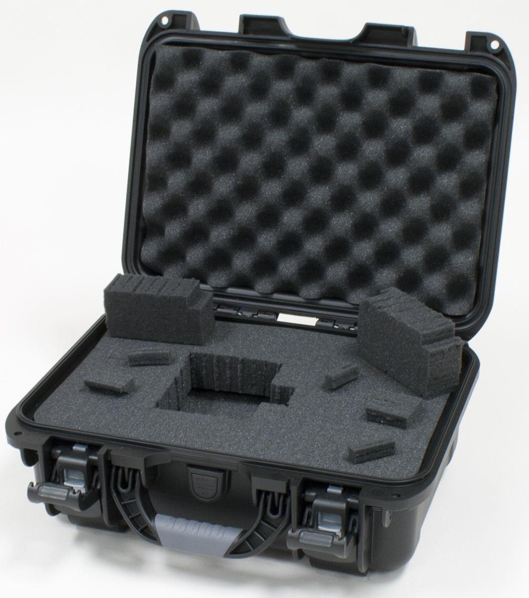 Gator Cases GU-1309-06-WPDF Waterproof Case W  Diced Foam 13.8 X9.3 X6.2  New