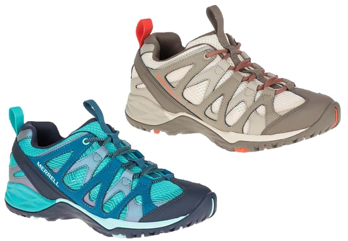 Merrell Siren Hex Q2 femmes Mesh Lace Up Hiking Trekking Walking Trainers Chaussures